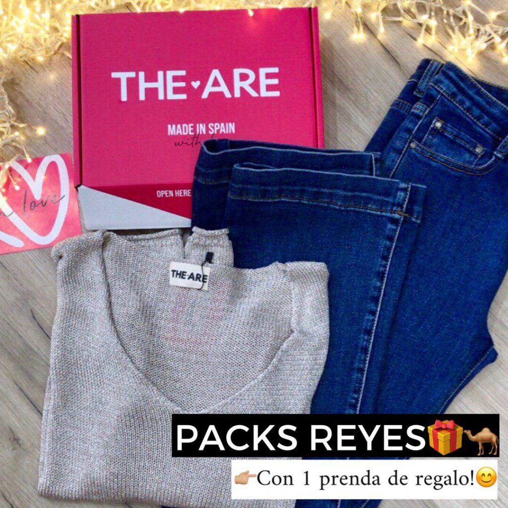 Pack Reyes Magos regala THE-ARE ropa chicas jóvenes