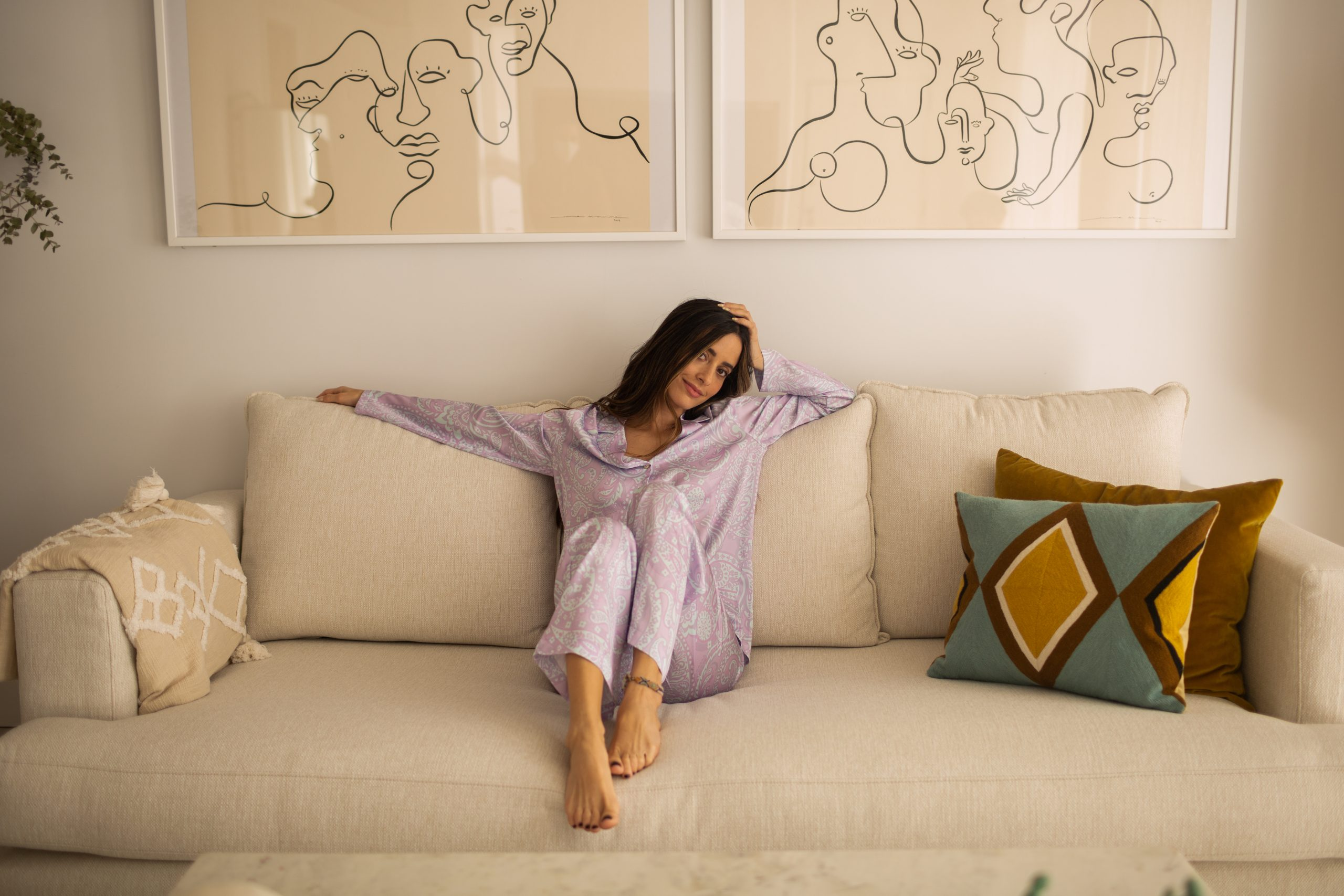 Pijama Happily- Colección Bliss THE-ARE x @mariafrubies